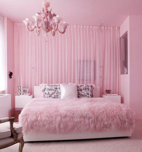 Fluffy   Pink bedding, Pink bedrooms, Pink room