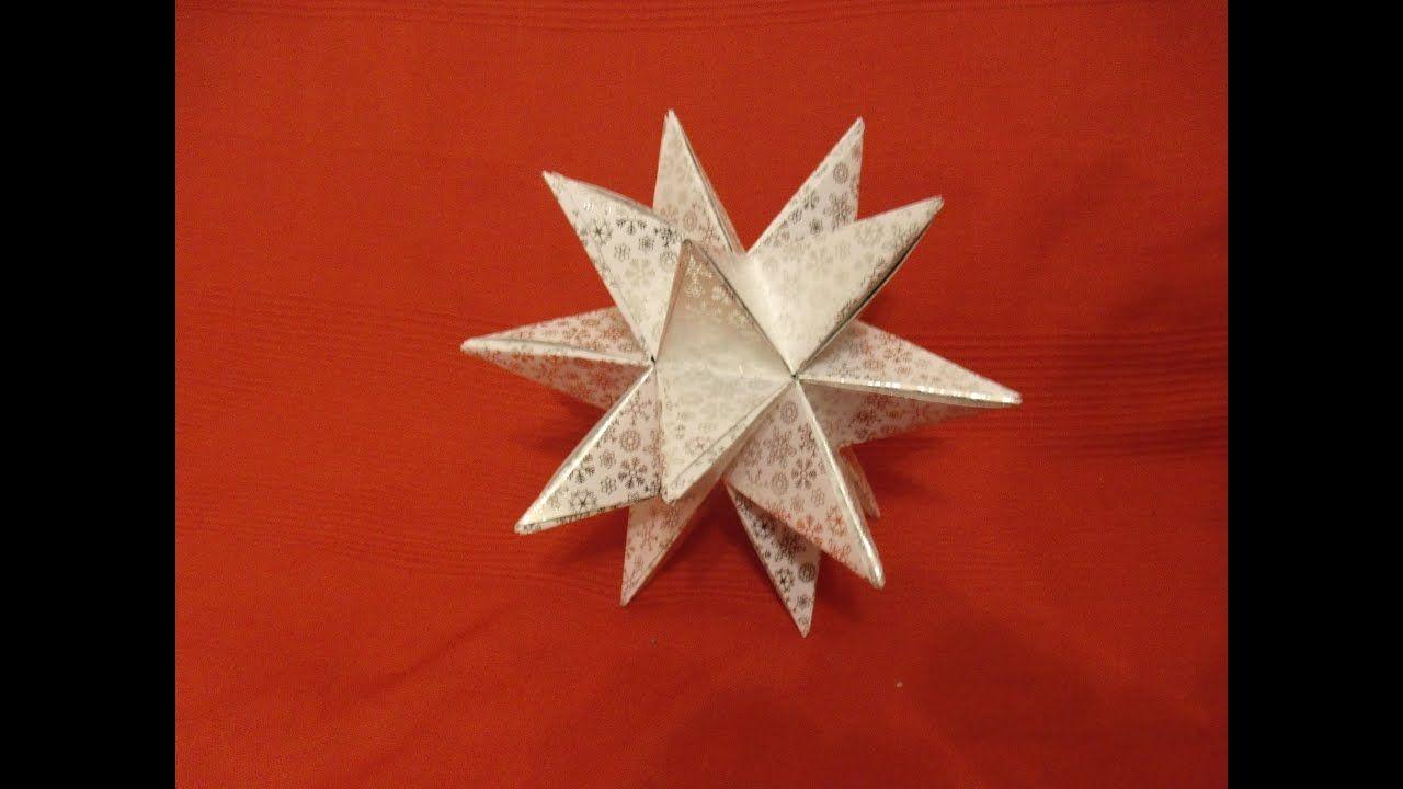 aureliostern 3d stern diy oder tutorial origami