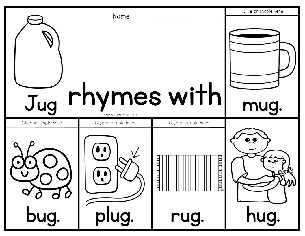 40 Rhyming Flip Books To Teach 40 Different Rhyming
