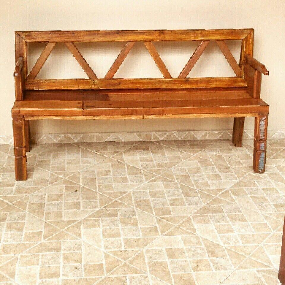 Banco madeira maciça