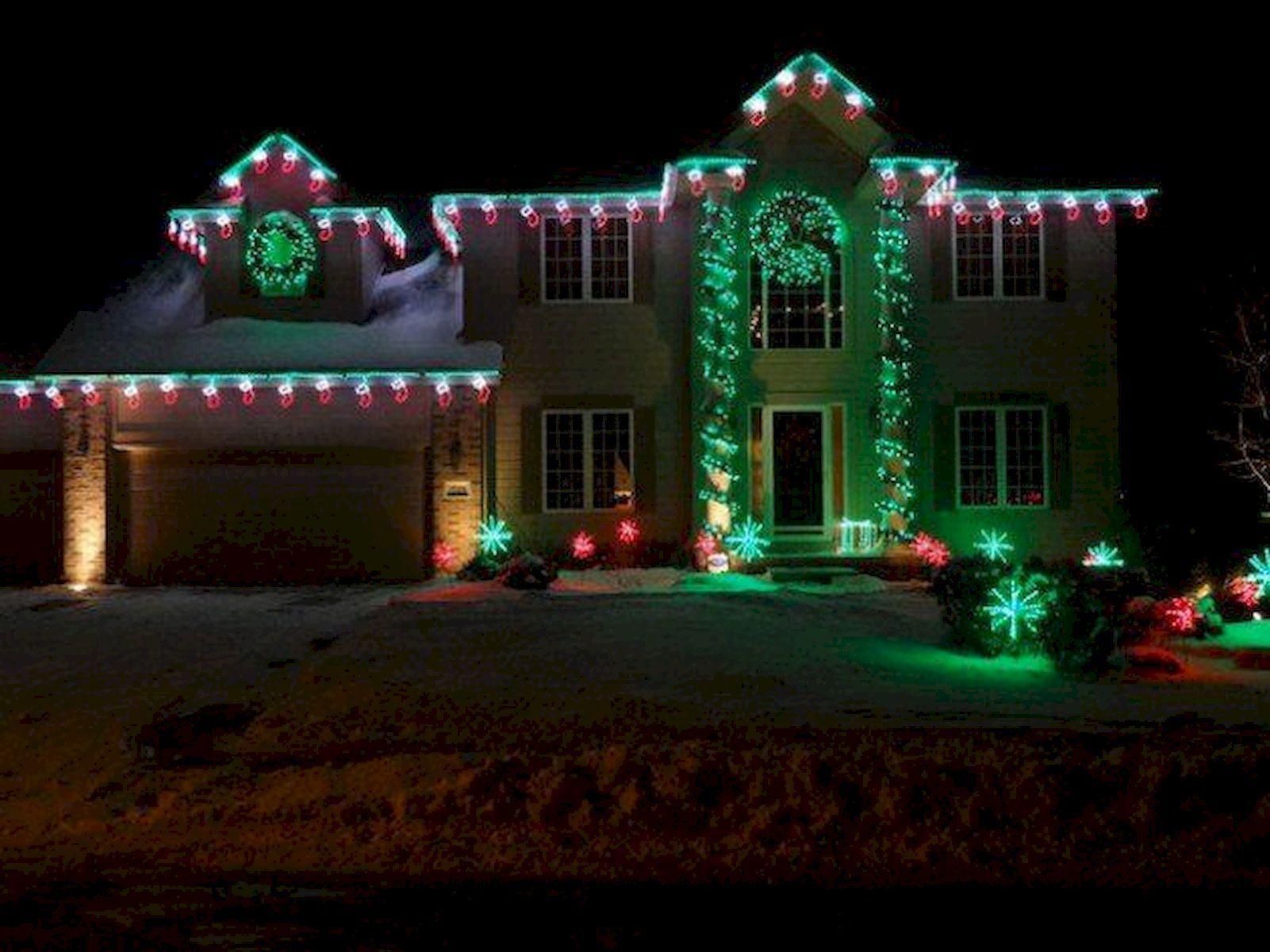 Nice Outdoor Christmas Lighting Ideas Will You Take Deep Breath Https Hajarfresh