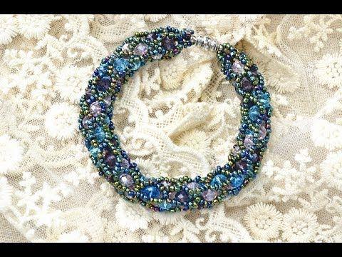 Photo of PandaHall Jewelry Making Tutorial Video — How to Make a Tubular Netting Stitch Bead Bracelet