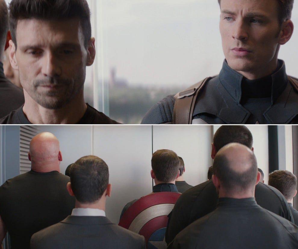Best Captain America Elevator Meme