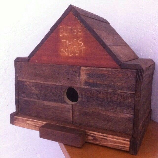 Pin by Mike Ellermeier on Birdhouses   Rustic birdhouse ...