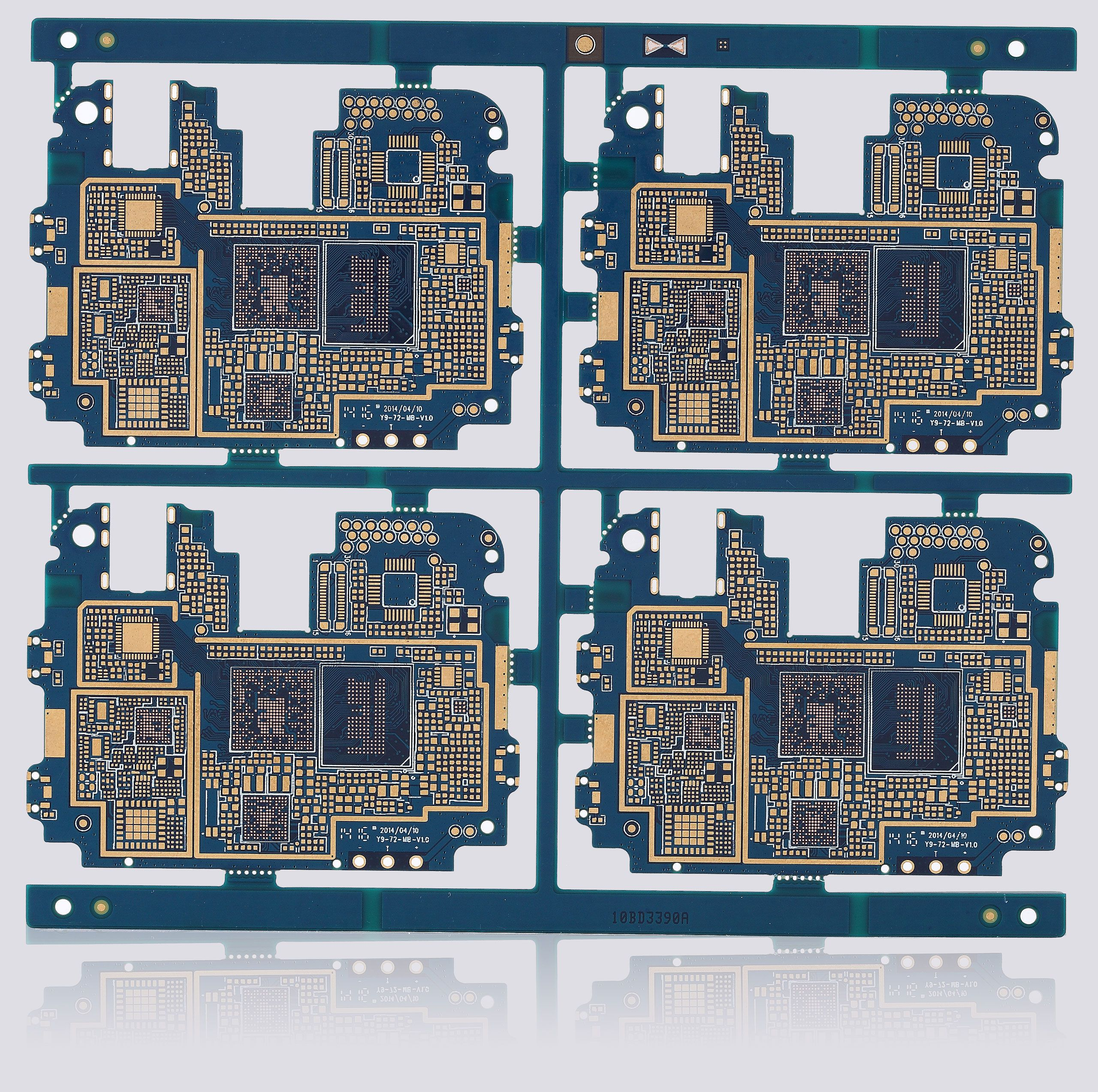 Handheld Electronic Device Main Board Buried Blind Via Pcb Buy Multilayer Circuit Pcbpcb With Impedance Controlpcb