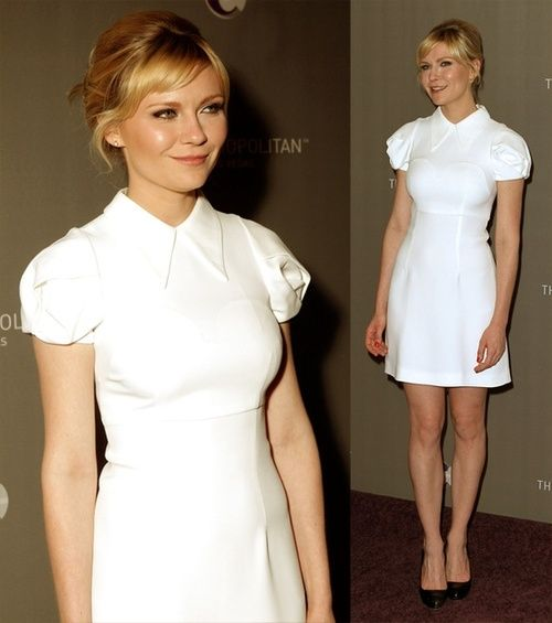 kirsten dunst- i like this shade of blonde