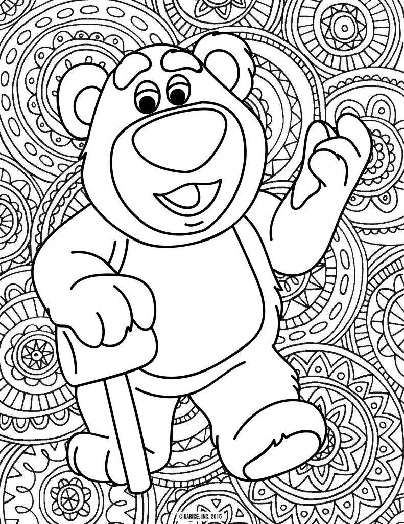 Disney Pixar Printable Coloring Pages Disney Party Ideas