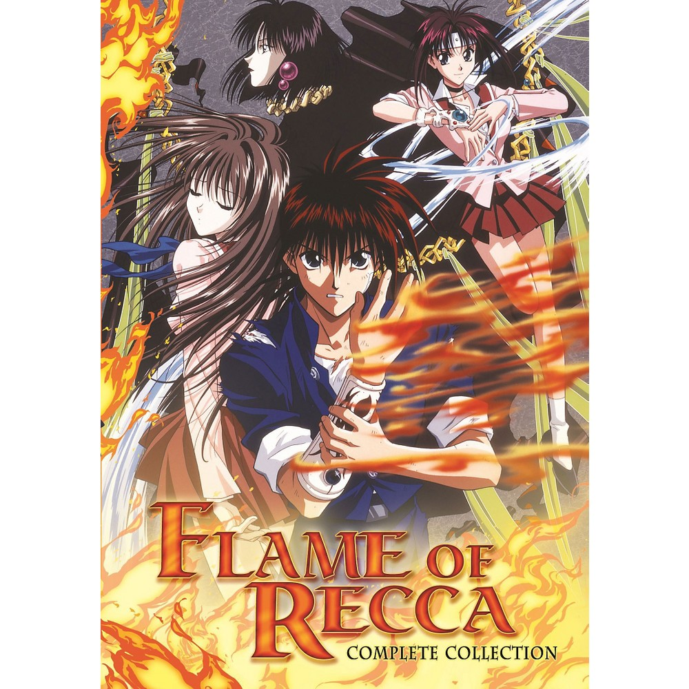 Flame of Recca Complete TV Series [6 Discs] Flame of