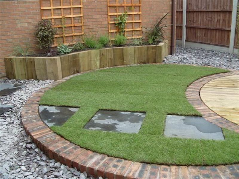 Ordinaire Contemporary Circular Garden Design