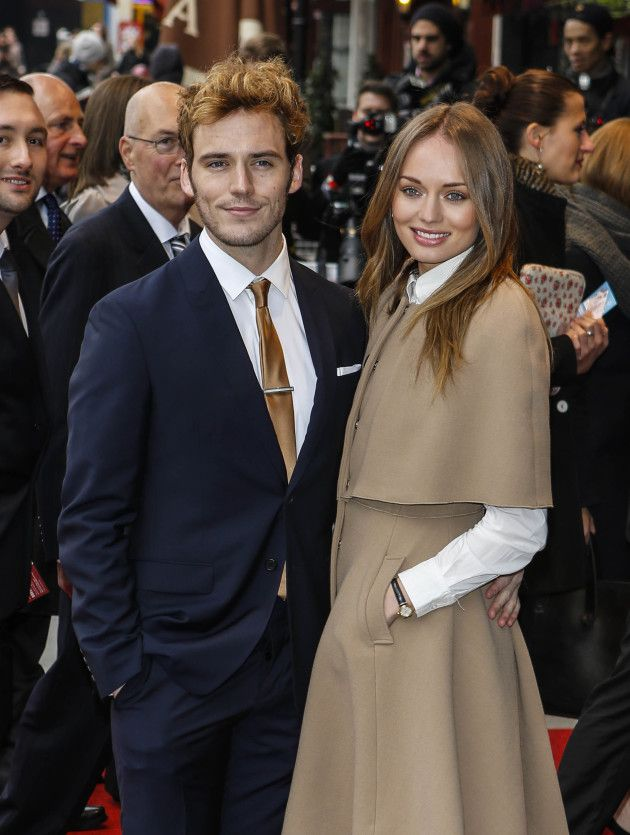 Sam Claflin Marries Laura Haddock! | Laura haddock, Sam ...