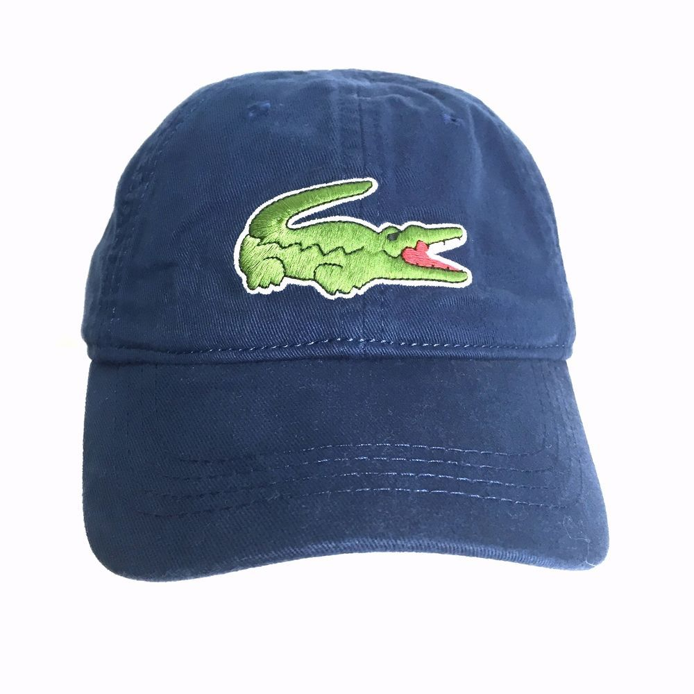 Lacoste Boys Big Croc Cap Hat Philippines Blue Adjustable Strap RK152151 Sz  6 9  Lacoste  BaseballCap e34cb1220b4