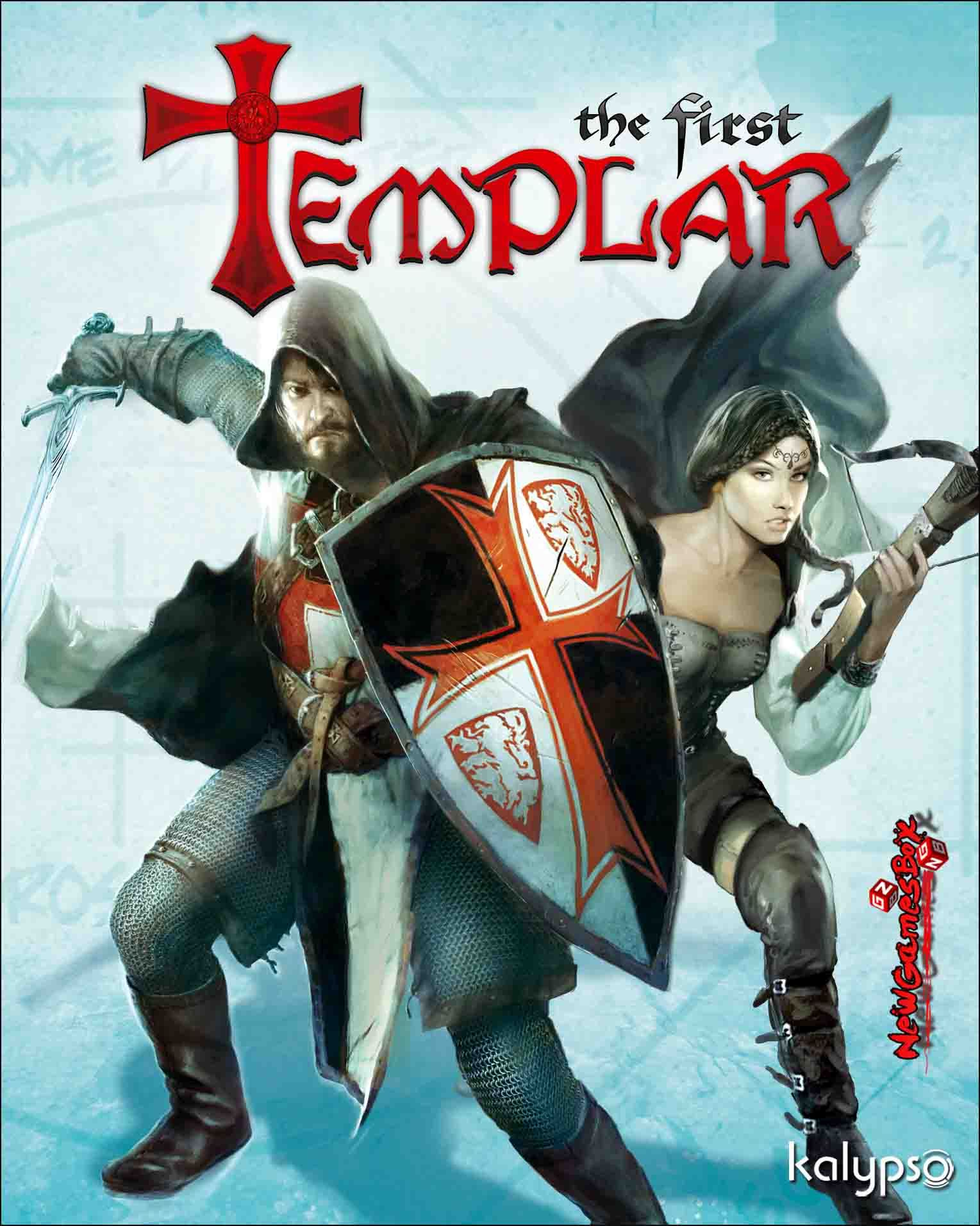 The First Templar PC Game Free Download Full Version, PC