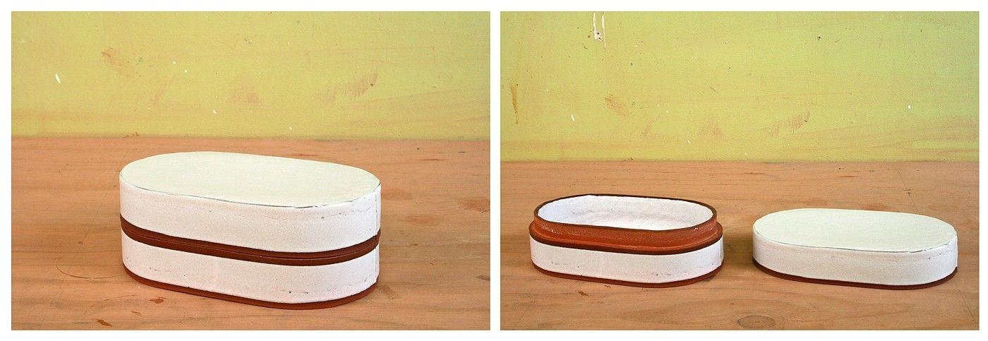 box, jar, clay, terra cotta, alex reed, alfred, ceramics, pottery