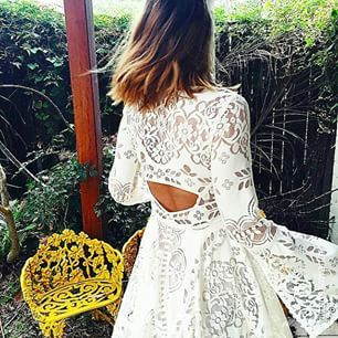So completely obsessed with this dress! Need. Now.