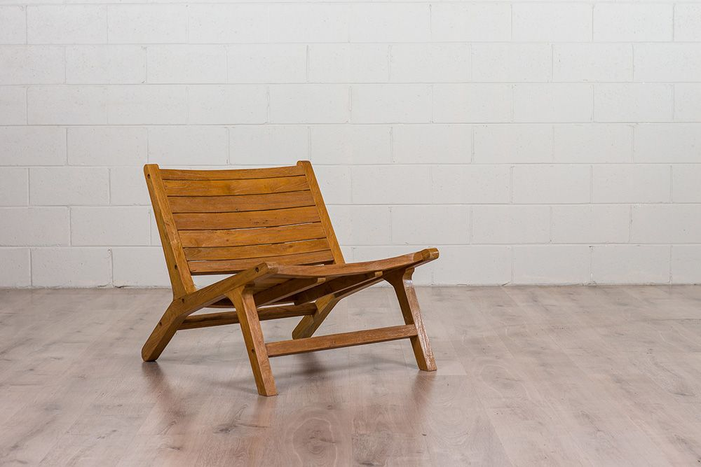 Low Outdoor Chair
