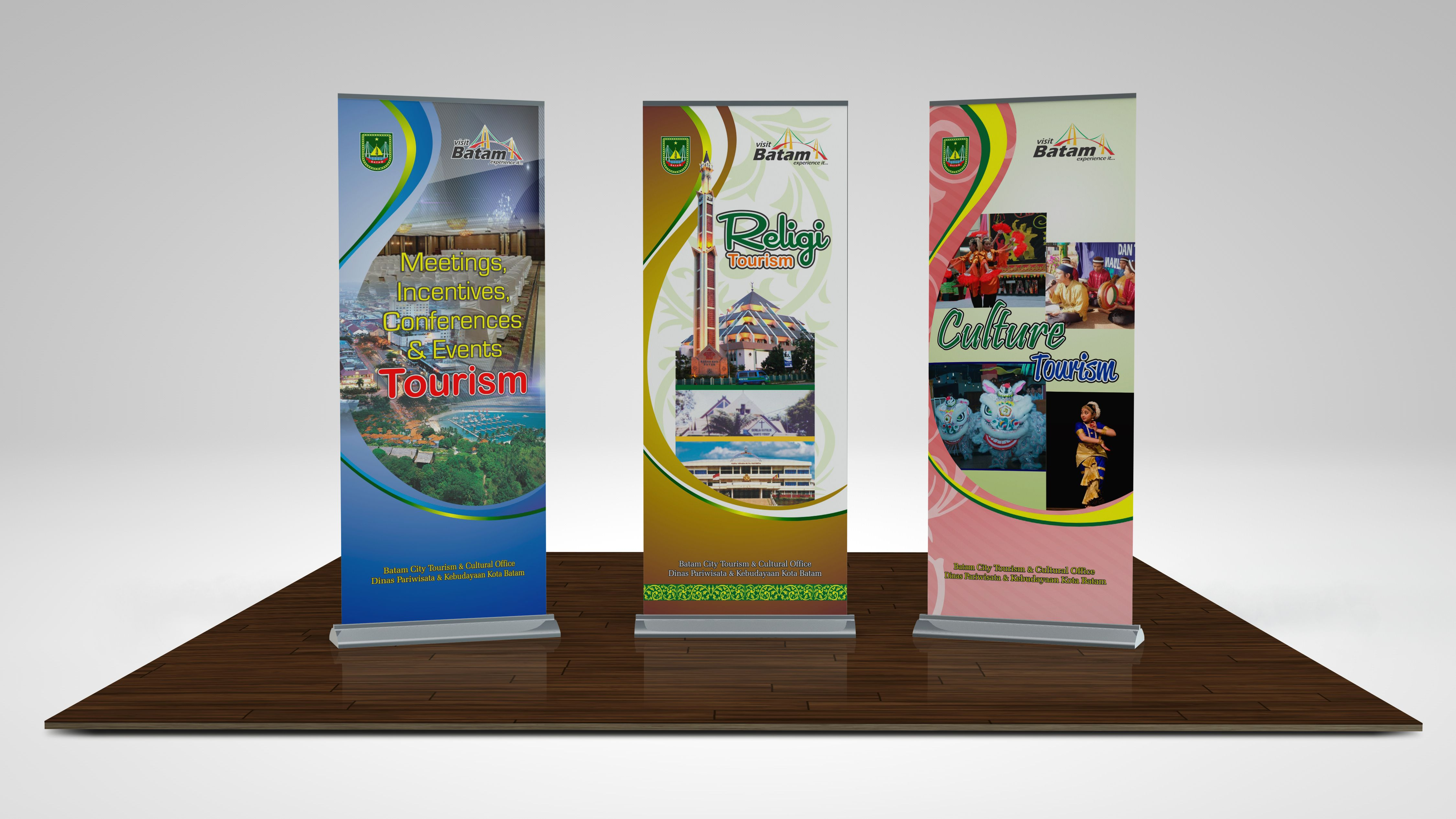 Batam City Tourism & Cultural Office_Stand Banner_2