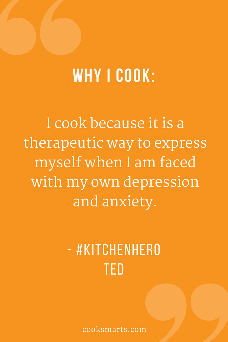 Ted Learning To Cook On A Tight Budget Cook Smarts Kitchen Hero Cooking Quotes Likeable Quotes Cooking On A Budget