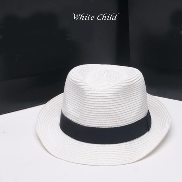 94b2d85cf10 Breathable Panama Style Family Straw Hats For Men Women