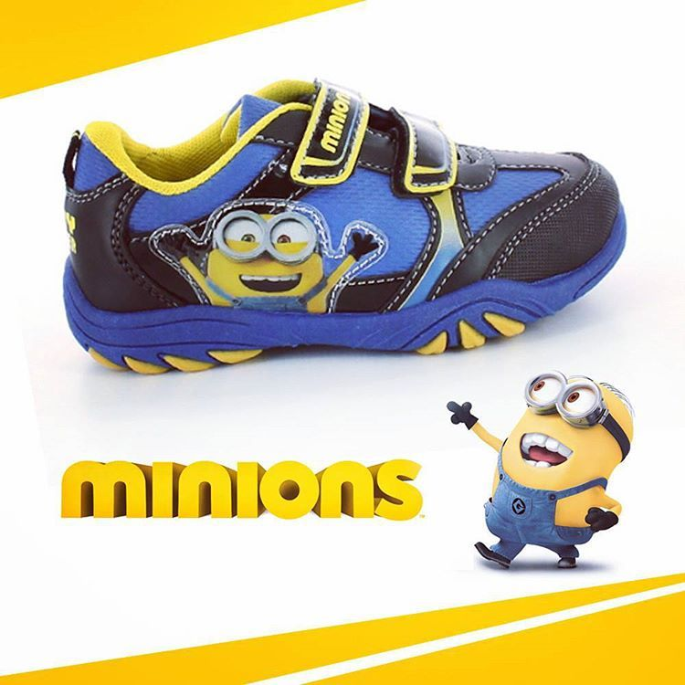 instore now. #minions #trainers #kids