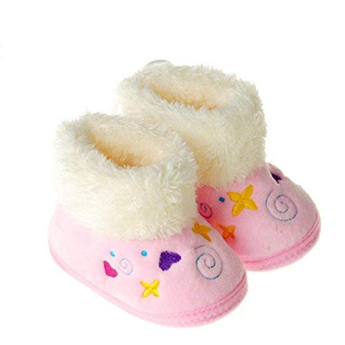 Voberry Baby Girls Soft Fur Winter Warm Snow Boots Crib S... https://www.amazon.com/dp/B017K9U4B8/ref=cm_sw_r_pi_dp_x_W4O.ybME90NS8
