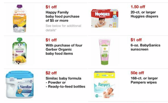 Target New Baby Mobile Coupons Huggies Pampers Earth S Best