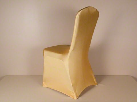 gold spandex chair cover fabulousevents wedding chaircovers