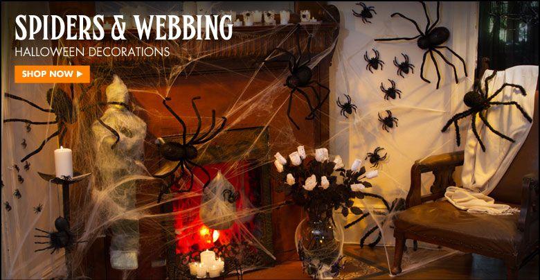Halloween Decorations - Halloween Party Decorations  Supplies - giant spider halloween decoration