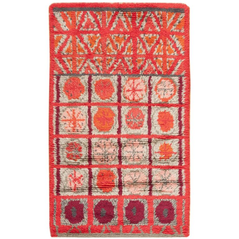 1stdibs Com Vintage Swedish Rya Rug Rya Rug Rugs On