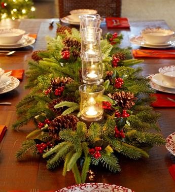 Merry Christmas If I Hit The Lottery Table CenterpiecesChristmas TablescapesFormal Dining