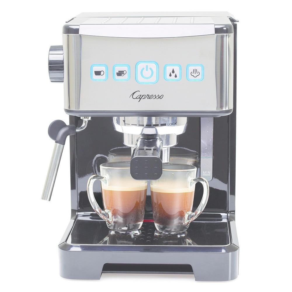 Capresso Ultima Pro Espresso & Cappuccino Machine Stainless Steel 124.01, Silver #espressomaker