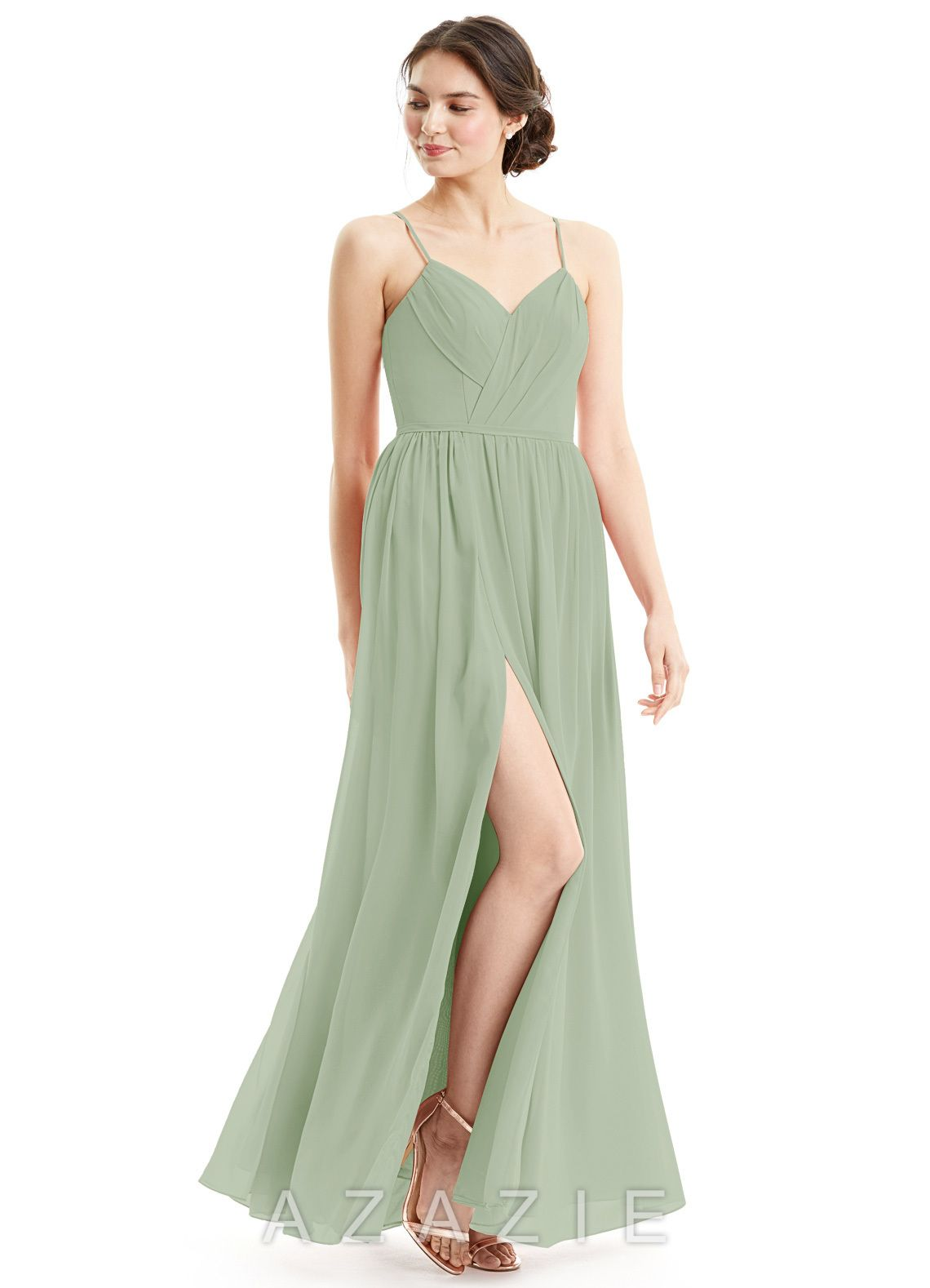 c15cd78e9fe Azazie Cora Bridesmaid Dress - Flamingo
