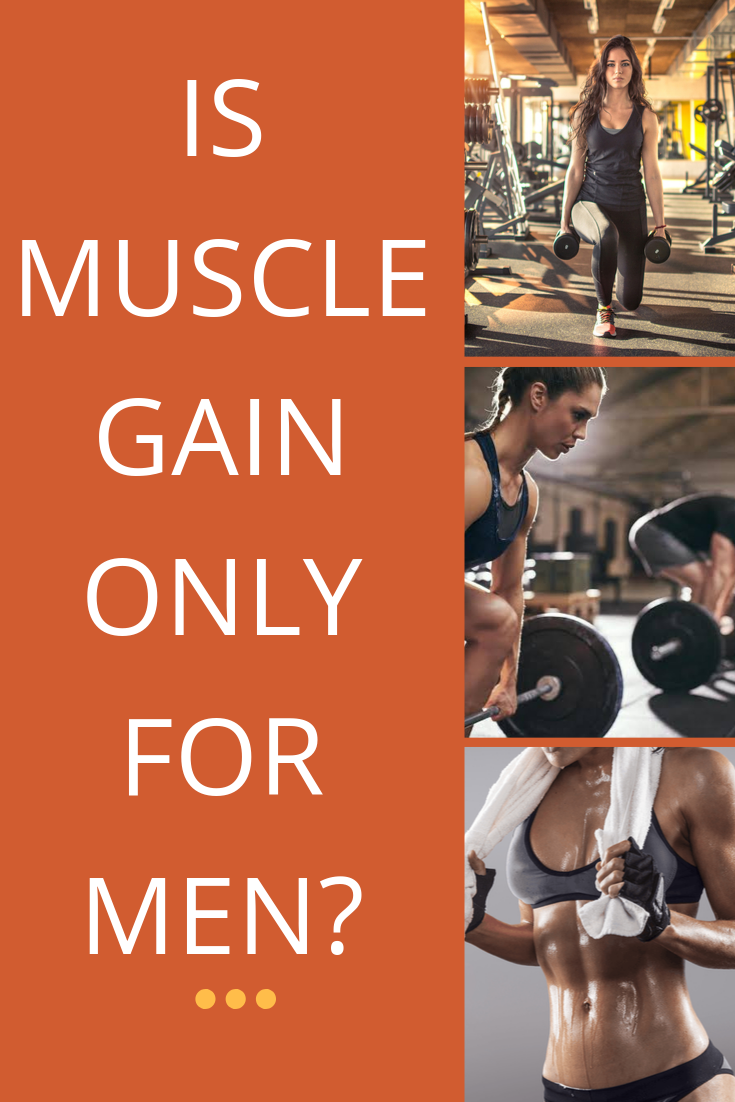 Is muscle gain only for men? #weightgain #fitness #muscle
