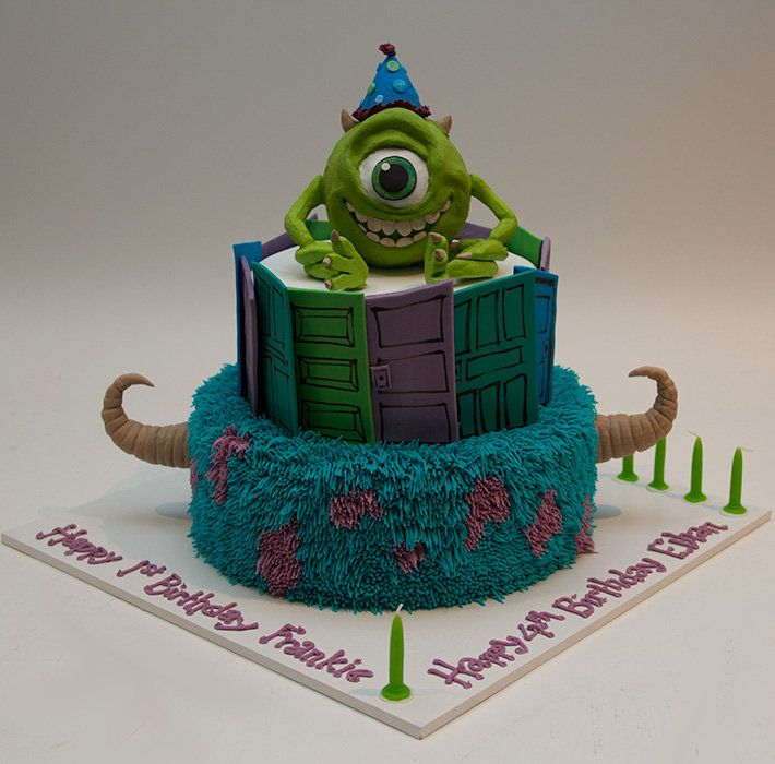 Monsters Inc. Cake.