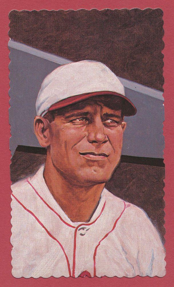 George Sisler baseball 1984 RGI Hall of Famers Deckle Edge card #20