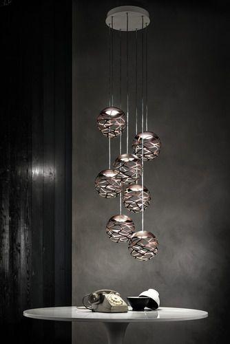 Kelly Cluster Sphere Multi Light Pendant | Multi light