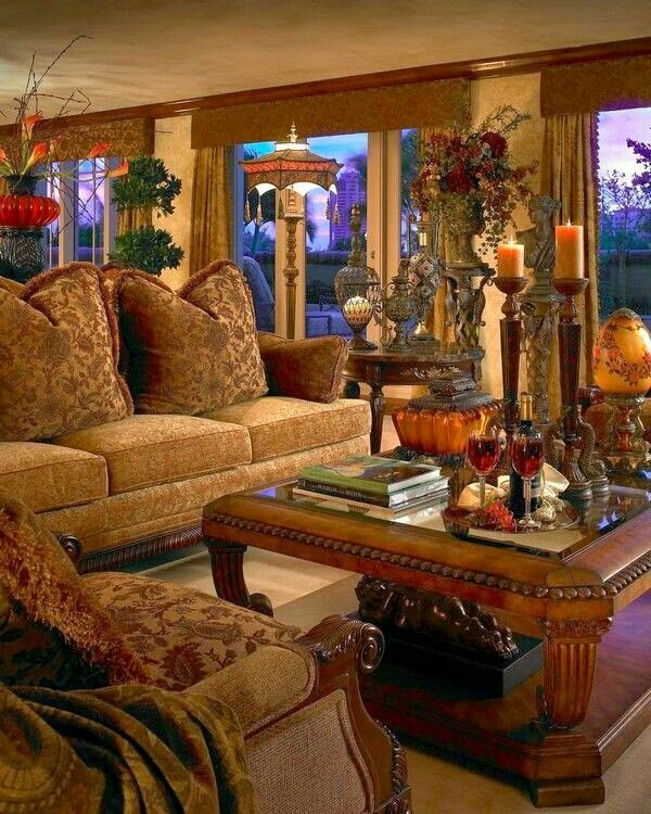 Style Tuscan Decorating Ideas For Living Rooms