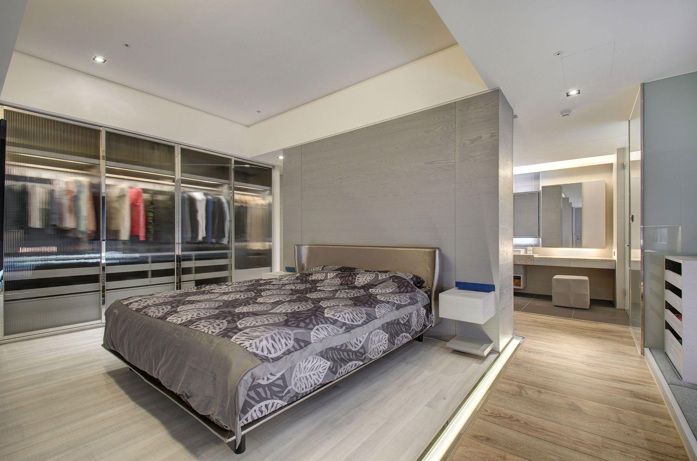 Bedroom interior design in modern style