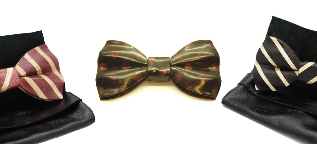 Bold yet timeless designs, for that exquisite bow tie style