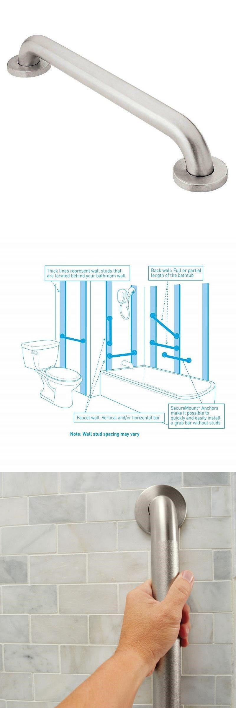 Handicap grab bar moen bathtub bathroom accessories shower safety