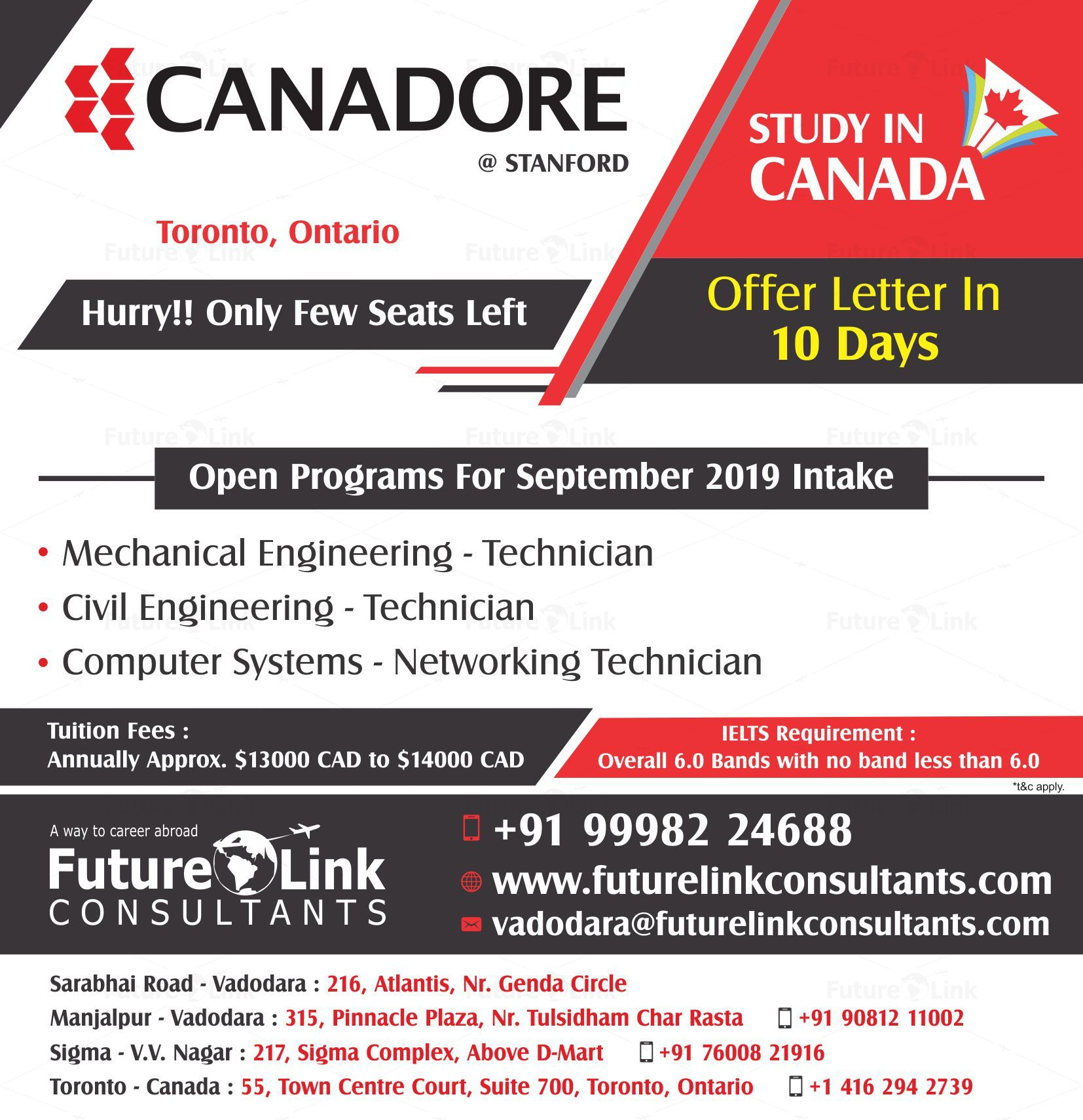 Do You Want To Study In Canada The Canadore College Toronto Ontario Canada Has All Your Career Oriented Ne Canada Toronto Mechanical Engineering Technician