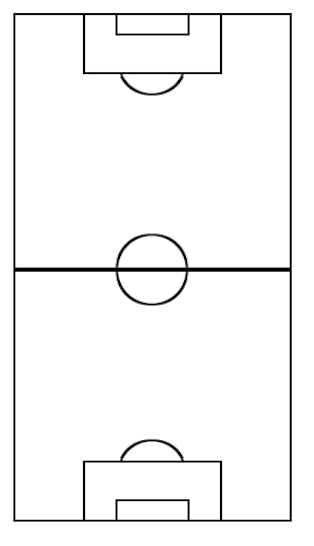 Blank Soccer Field Sheet