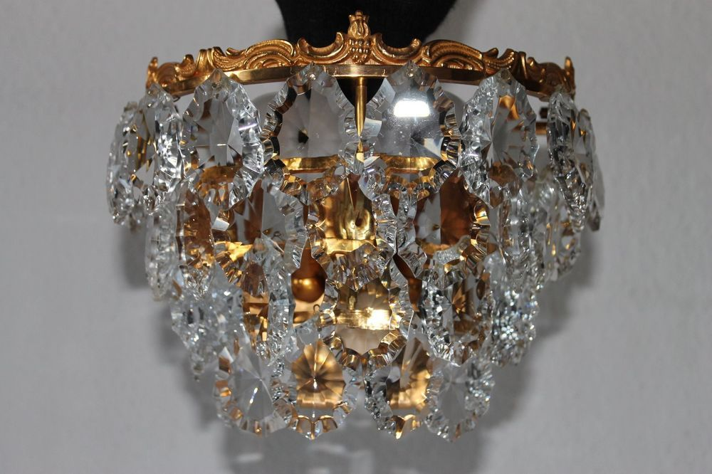 Kronleuchter Wandlampe ~ Exklusive wandlampe bleikristall gold glas kronleuchter