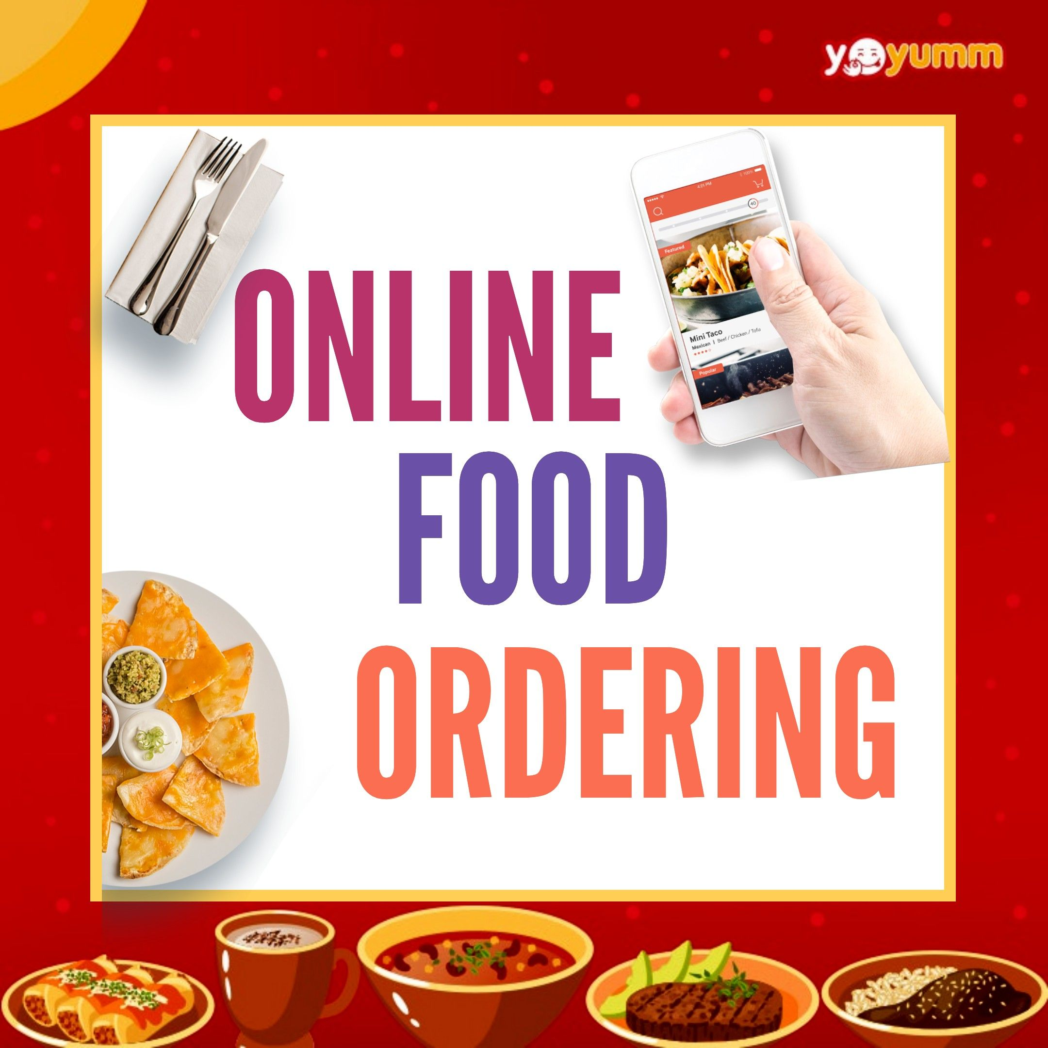 Start your online food ordering website successfully with