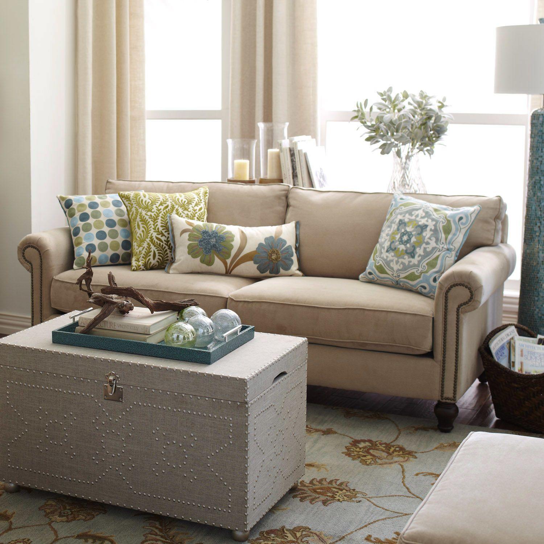 Home Decor Imports: Alton Sofa - Ecru