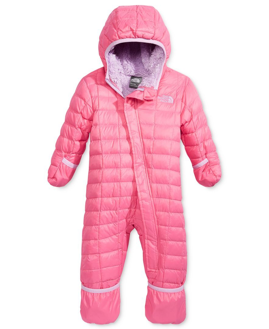 af2fd8145 The North Face ThermoBall Hooded Bunting, Baby Girls (0-24 months ...