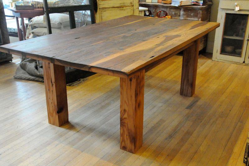 Good How To Make A Barnwood Table   Barn Wood Furniture