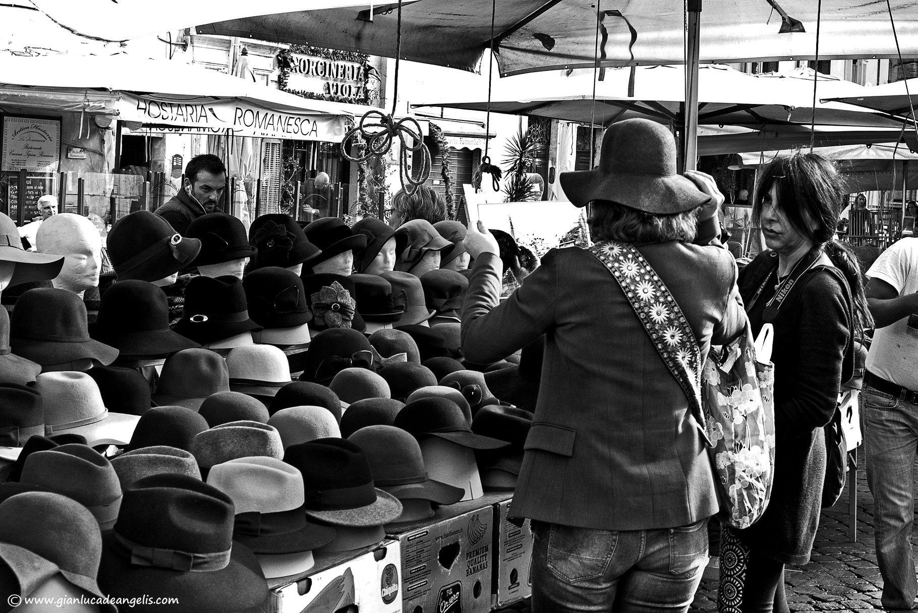 Mercato a Campo dei Fiori - Roma