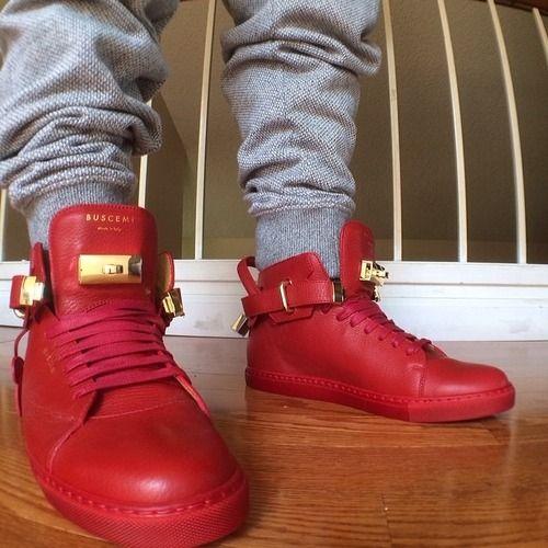 Red Buscemi shoes | Buscemi, Gucci