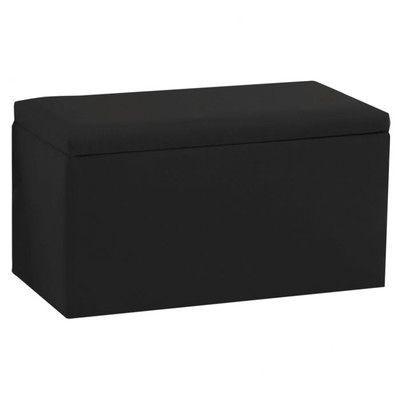 Skyline Furniture Duck Storage Ottoman Upholstery: Duck Black