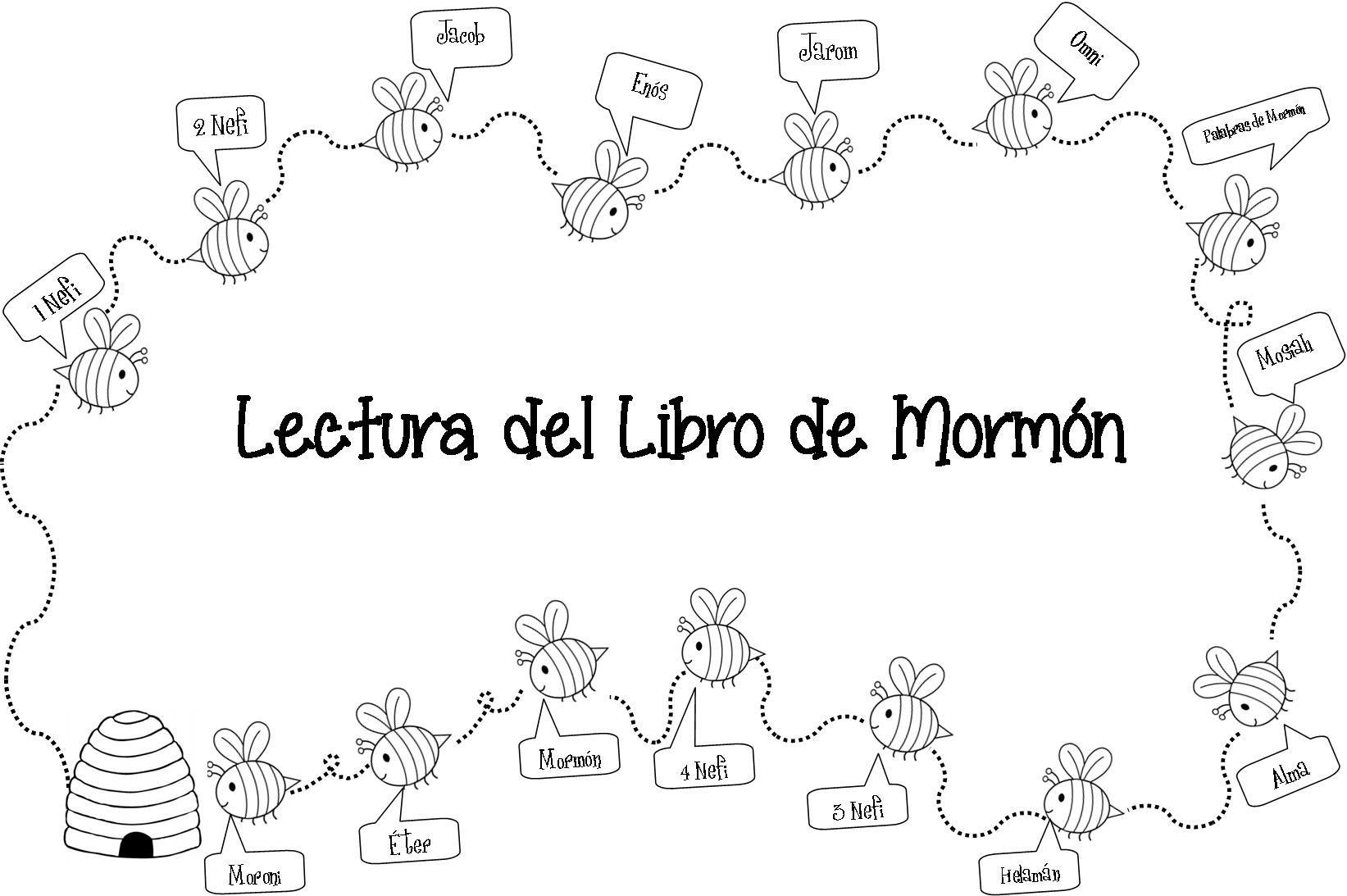 Lectura del Libro de Mormón, para Mujeres Jóvenes o primaria   50 ...